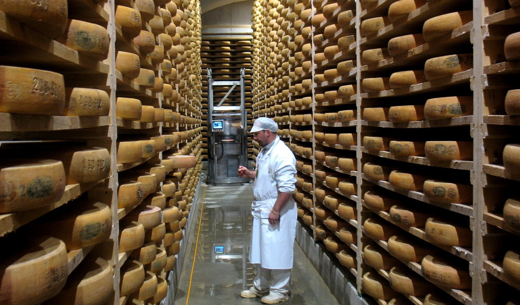 Caves of Comte Cheese