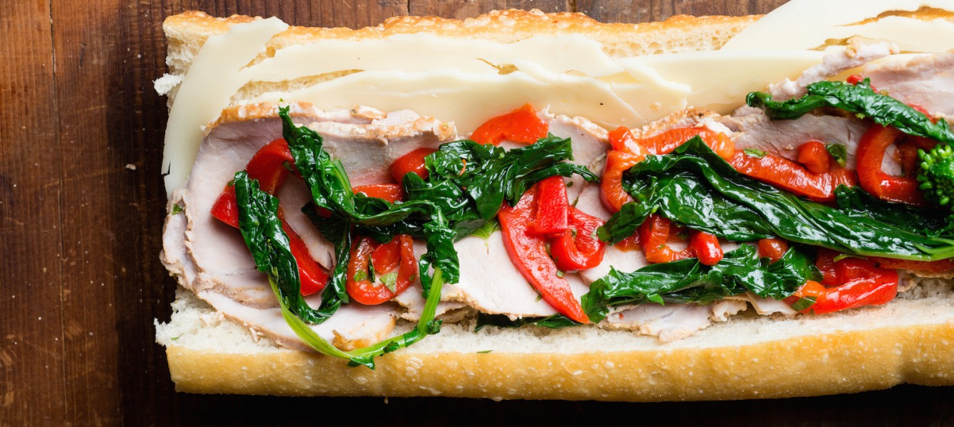 Game Day Porchetta Sandwich