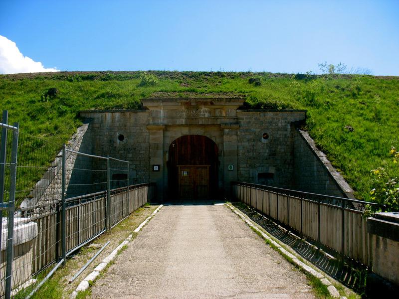 Fort Lucotte Entrance