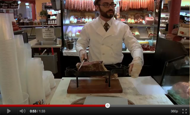 Jamon Iberico at Di Bruno Bros