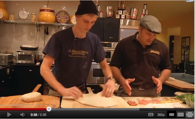 Pizza Making with Di Bruno Bros