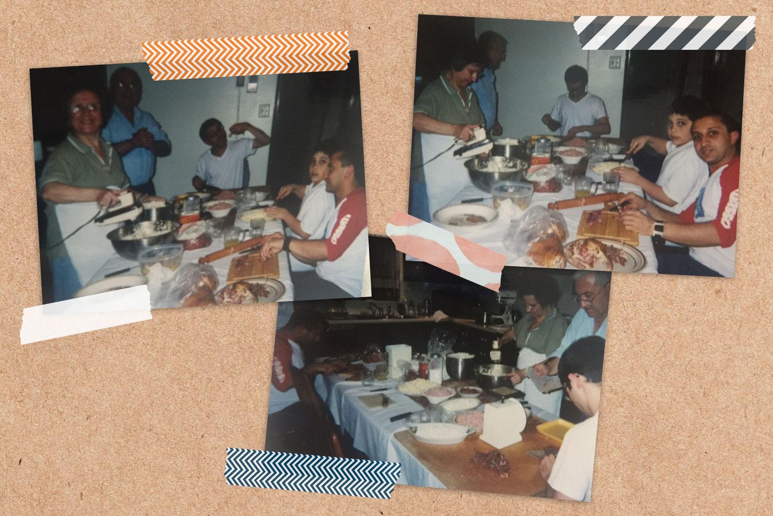 Ham Pie Scrapbook Page 1