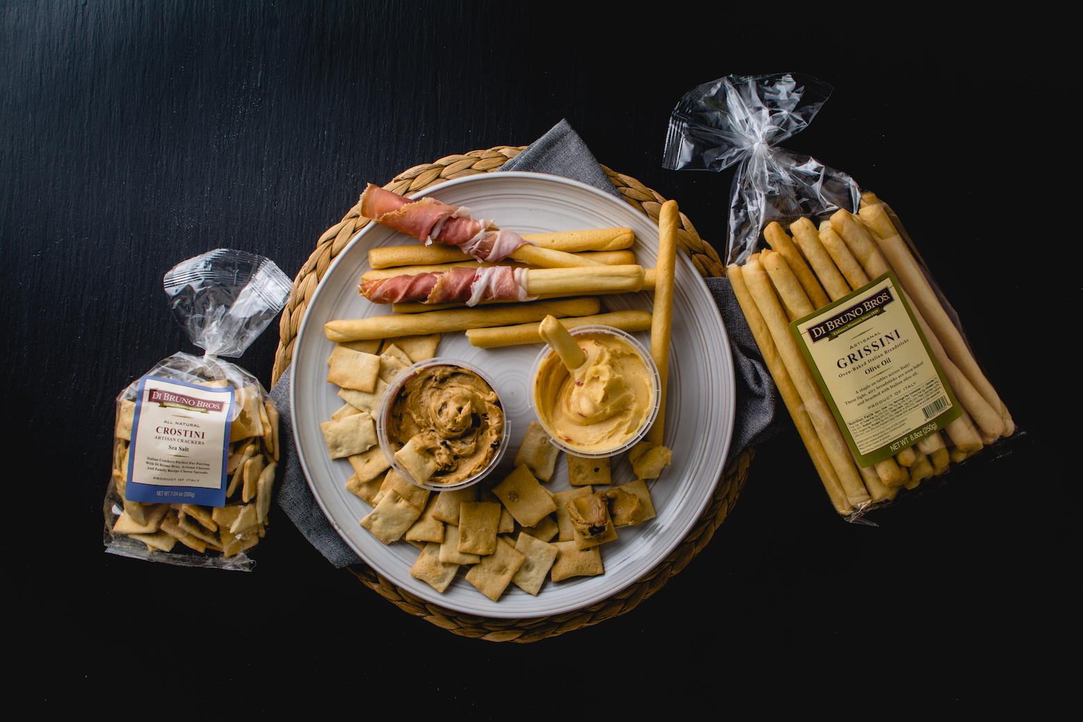 Get Dipping! New Grissini Breadsticks & Sea Salt Crostini!   Blog