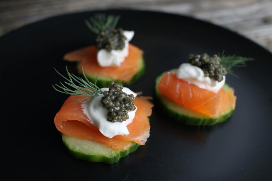 Salmon Caviar Bite